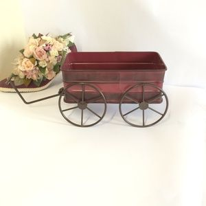 Other - Adorable Vintage Style Red Wagon